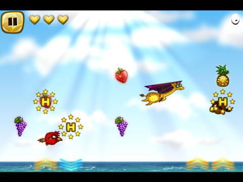 Screenshot #3 for Flying Giraffe HD