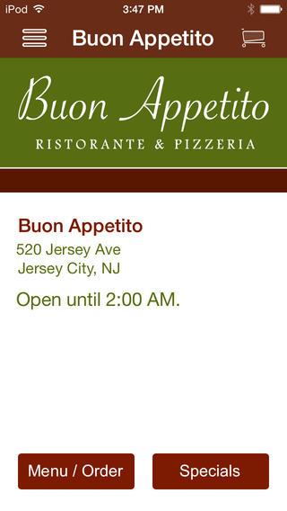 Buon Appetito ristorante