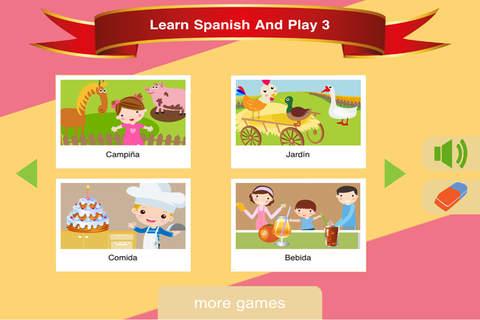 Learn Spanish & Play 3|玩教育App免費|玩APPs