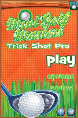 A Mini Golf Masters Trick Shot Pro