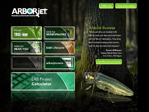 ARBORJETP screenshot 1