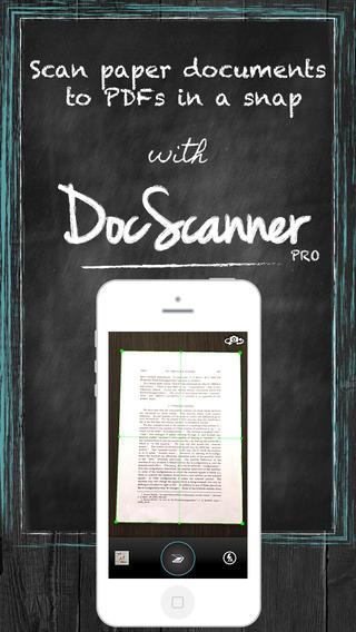 专业文档扫描仪:DocScanner PRO