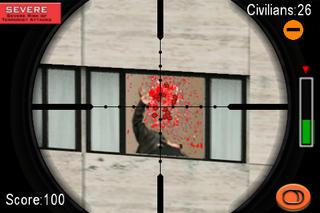 Screenshots of Arcade 3D Super Sniper 2 FREE for iPhone