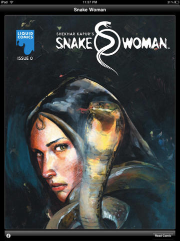 LIQUID COMICS : SNAKEWOMAN INTRODUCTION : ISSUE 0