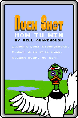 Screenshots for Duck Shot for iOS