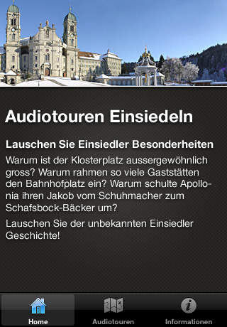 Einsiedeln Audioguide screenshot 1