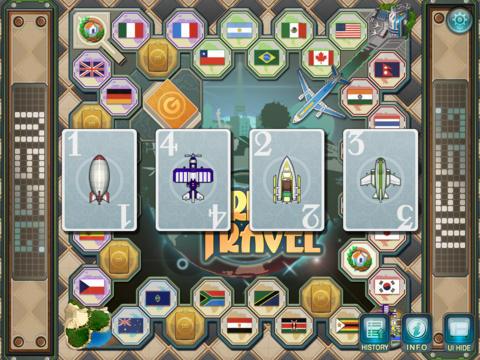 WorldTravelGame Lite iPad Screenshot 1