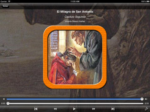 玩書籍App|Audiolibro. El Milagro de San Antonio免費|APP試玩