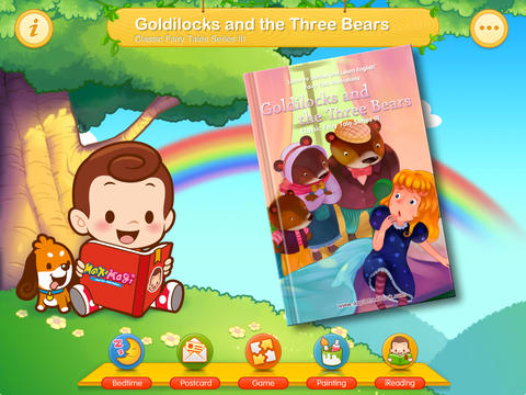 iReading HD – Goldilocks and the Three Bears