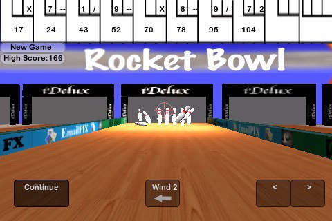 Rocket Launcher Bowling screenshot 1