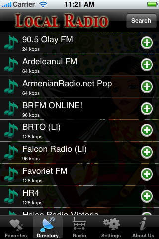 Local Radio iPhone Screenshot 4