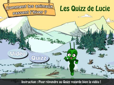 Lucie la Luciole - Quizz Animaux