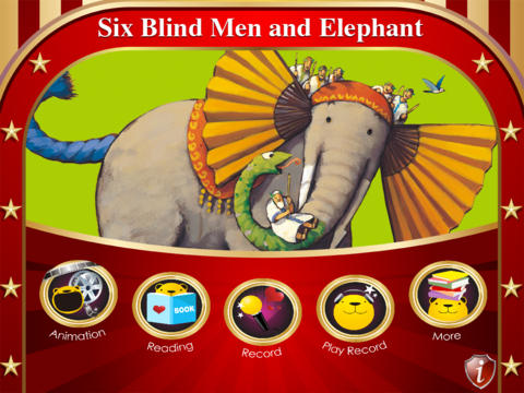 GuruBear- Six Blind Men Feel an Elephant