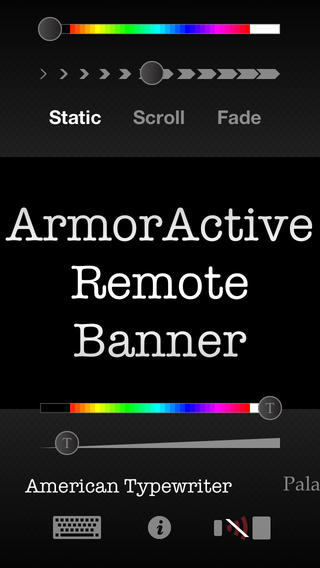 Remote Banner - Stand alone marquee or remote control for Remote Banner HD