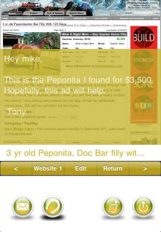 Pet Lover's Horse News Reader iPhone Screenshot 3