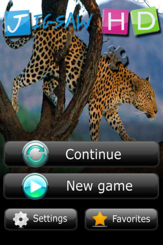 Jigsaw HD iPhone Screenshot 1