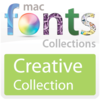 10 款创作型 Mac 字体 MacFonts-CreativeFonts   For Mac