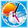 日本気象協会お天気時計