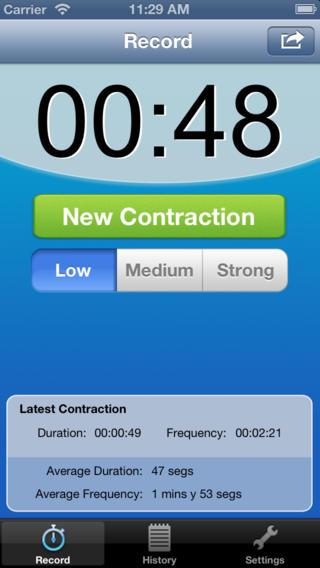Track your Contractions