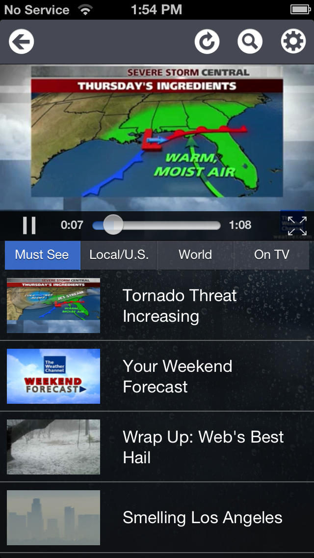 The Weather Channel® Max  Screenshot