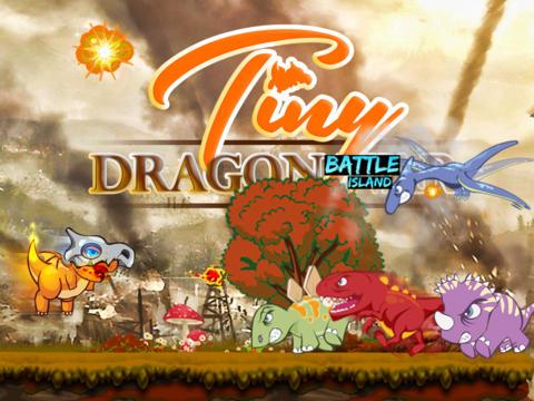 玩免費遊戲APP|下載Tiny Dragon Battle Islands: Heroes vs Monsters, Evolution of a Hero in a Major Action Mayhem unleashed on the Devious & Shattered Island app不用錢|硬是要APP