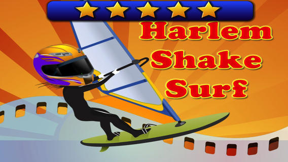Harlem Shake Surf - fly jump and dance in the turb