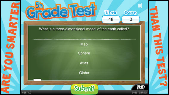 5th Grade Test