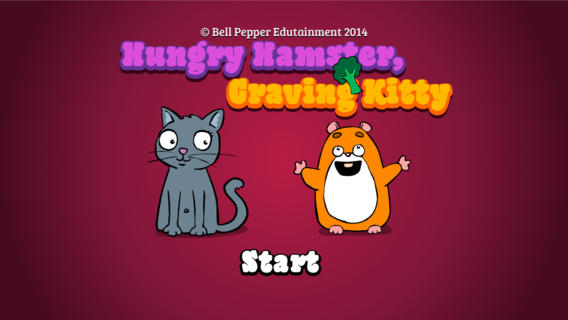 Hungry Hamster Craving Kitty