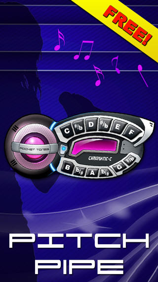 Pitch Pipe Pro Pitchpipe - Perfect practice tool for Musicians Chromatic acapella pitch