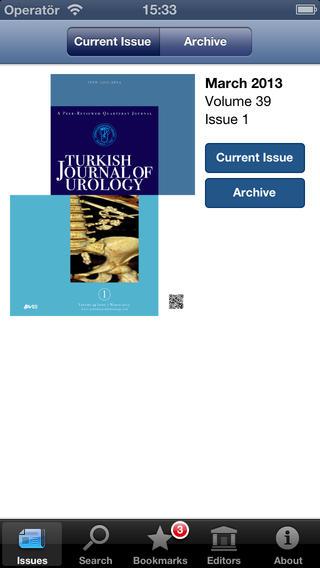 Turkish Journal of Urology
