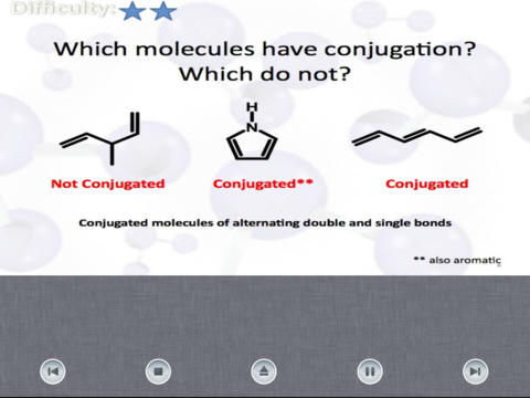 Organic Chemistry Audio Flashcards iPad Screenshot 2
