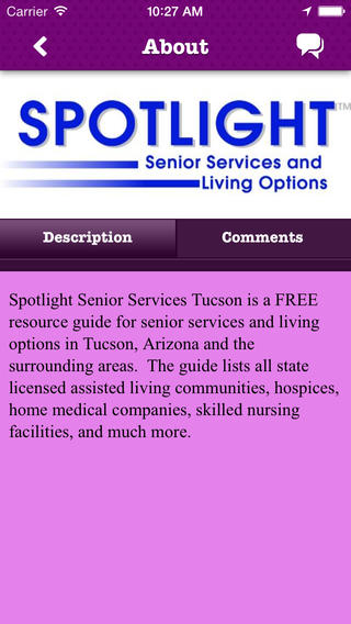 Spotlight Senior Services Tucson