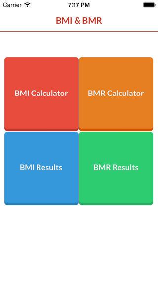 BMI BMR Calculators