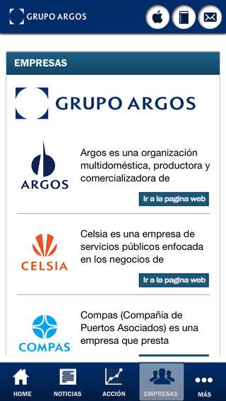 Grupo Argos - Relación con el inversionista