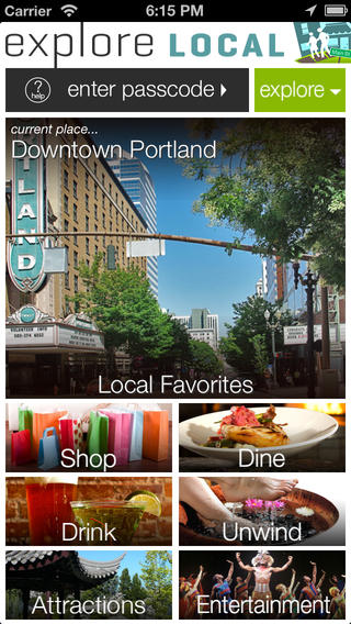 Explore Local-Oregon Washington California