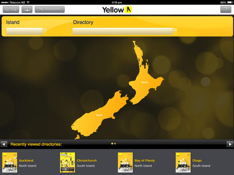 Yellow® NZ eBook screenshot 1