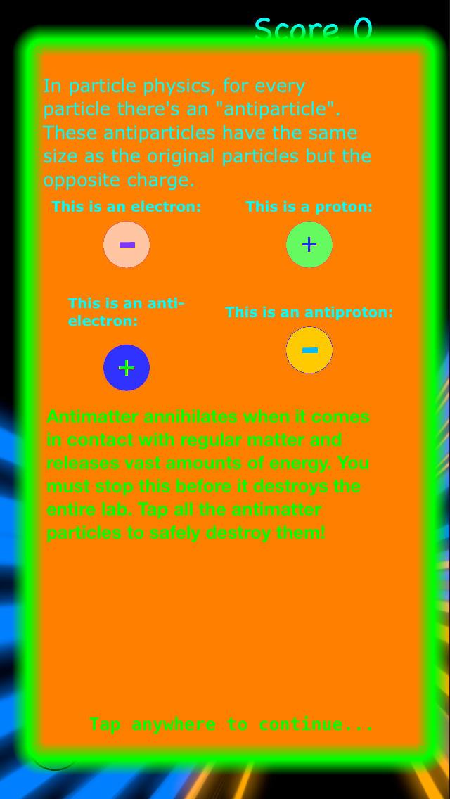 Antimatter Blast  Screenshot