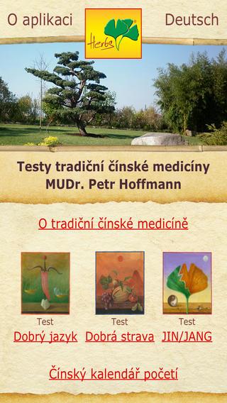 Testy tradiční čínské medicíny – MUDr. Petr Hoffmann