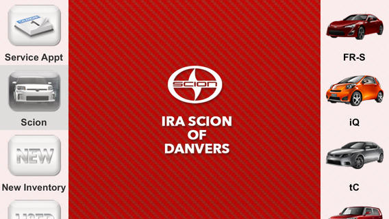 Ira Scion of Danvers Dealer App