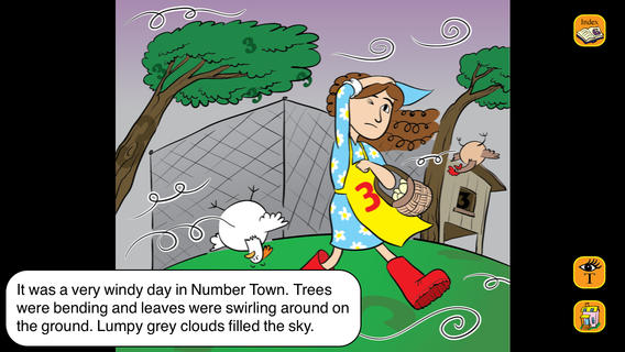 Trouble at Trio Farm, Interactive Children's Story