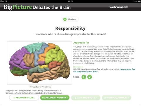 Big Picture Debates the Brain