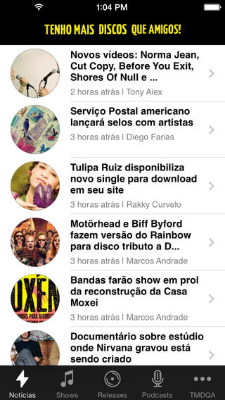 TMDQA Notícias Musicais