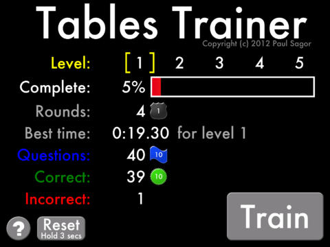 Tables Trainer
