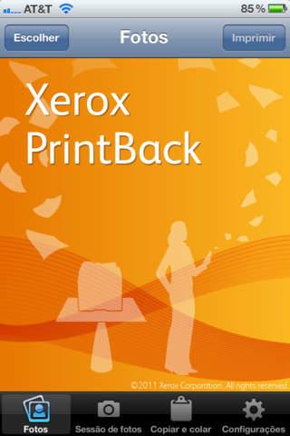 Xerox PrintBack screenshot 1