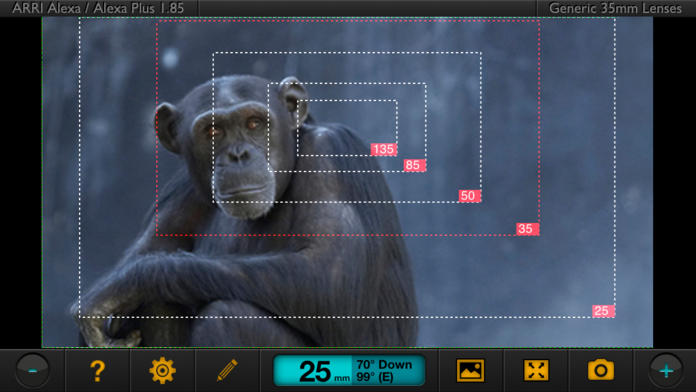 Artemis Director's Viewfinder - iPhone Mobile Analytics and App Store Data