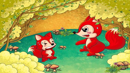 狐狸和葡萄 - 睡前 童话 动画 故事书 iBigToy