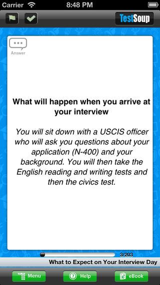 The US Citizenship Test 2013