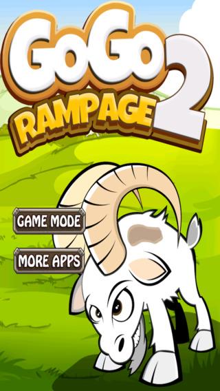 Go Go Rampage 2 Madness - Crazy Goat Frenzy Smash - Free