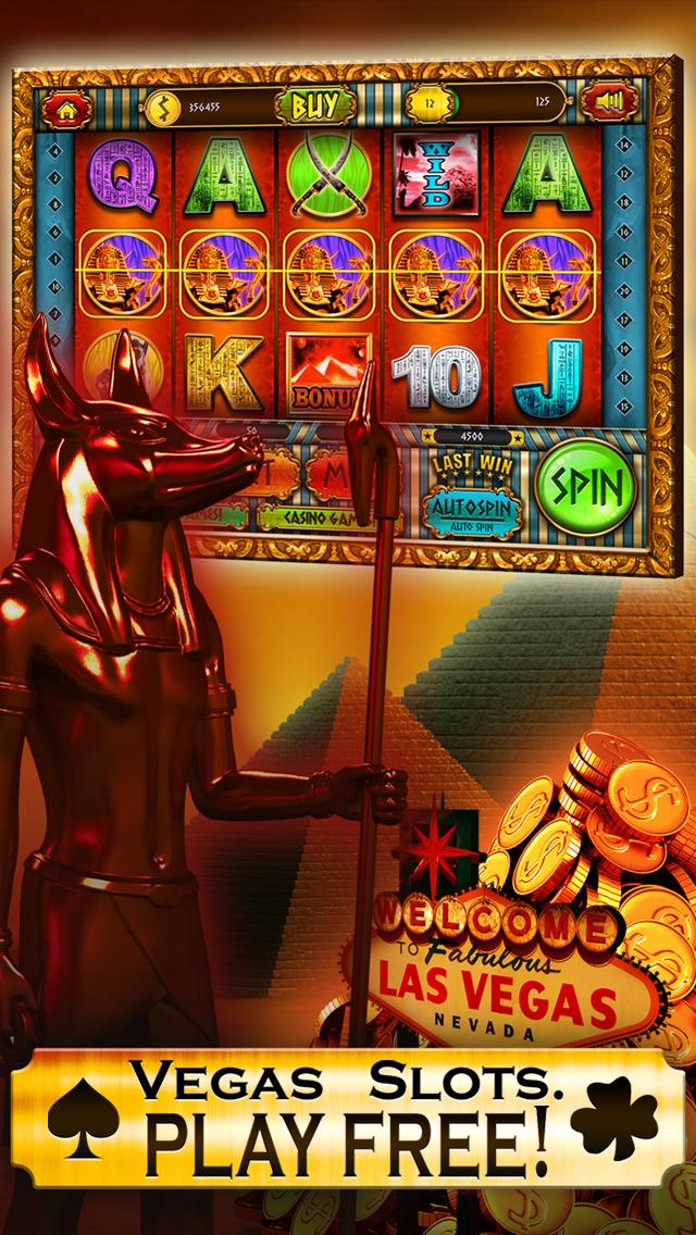 Slots Pharaoh's Gold VIP Vegas Slot Machine Games - Win Big Bonus Jackpots in this Rich Casino of Lucky Fortune