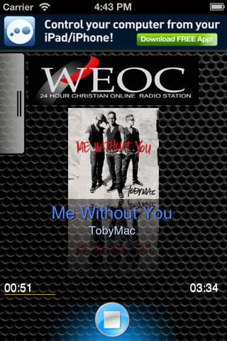 WEOC screenshot 1